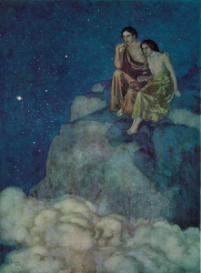 05. Dulac, Edmund - Illustration For Edgar Allan Poe's Al Aaraaf